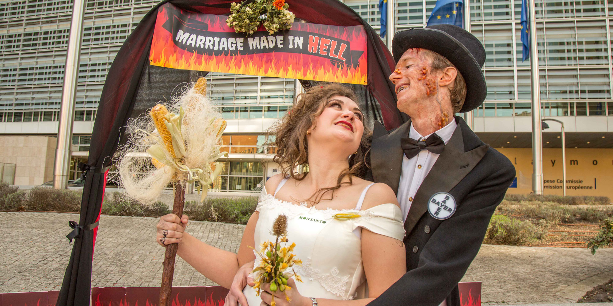 Opposition Mounts To Marriage Made In Hell Bayer Monsanto Mega The Merger Friends Of Earth Europe