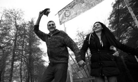 celebrating victory in Kruščica (©Sediva fotografie)