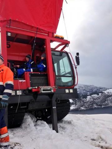 YFoE Norway blocks mine site
