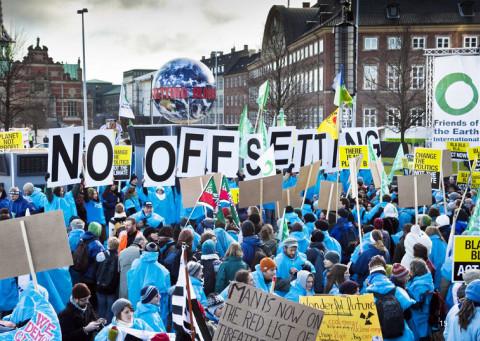 FoiEI carbon offset protest, Copenhagen 2009