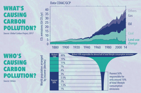 What & who is causing carbon pollution?