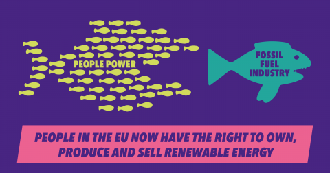 People in the EU now have the right to own, produce and sell their own renewable energy