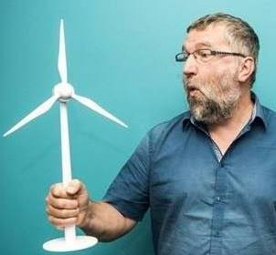 Dirk Vansintjan, co-founder of Ecopower