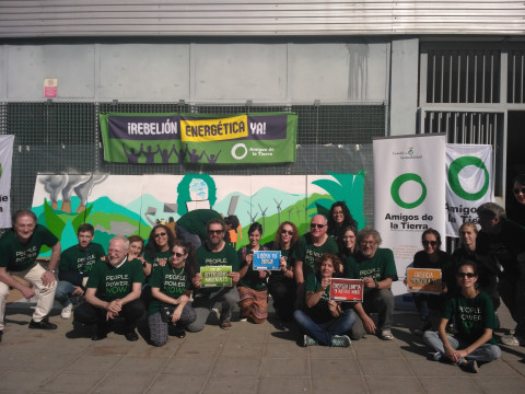 Mural Days of Action, No to Dirty Energy, Madrid