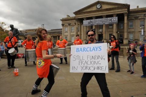 Frack Free Fiesta, Huddersfield, Days of Action, Reclaim Power
