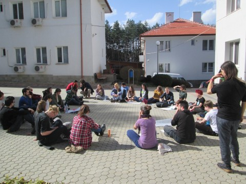 Skillshare discussion in Sofia