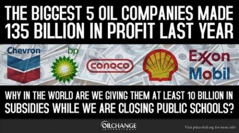 oil company subsidies