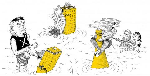 Wildest schemes: the market vs climate change (c) Sam Wallman