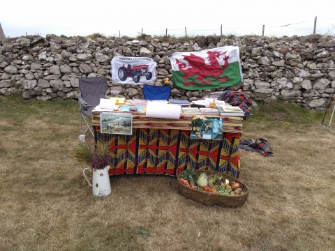 Agri-activism - stand