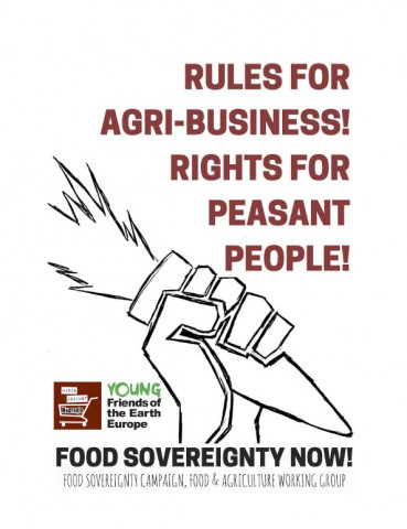 Agribusiness - peasants graphic