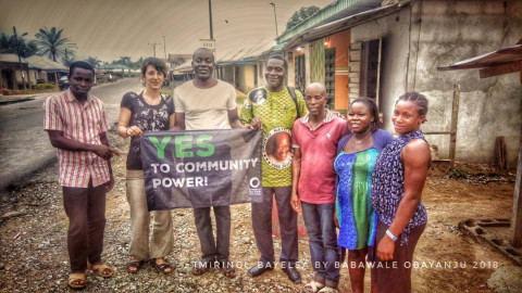 Visit to FoE Nigeria (c) Babawale Obayanju