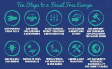 Ten steps to a Fossil Free Europe