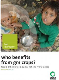Cover of ¿Quién se beneficia con los cultivos transgénicos?