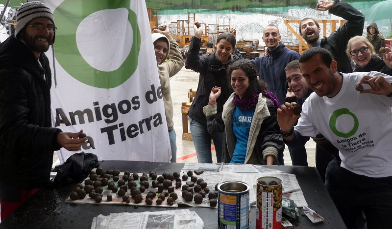 reCAPturning the land with 'seed bombing' in Madrid | Young