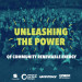 front cover of booklet 'unleashing the power of community renewable energy'