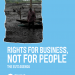 Rights for business, not for people: the EU's agenda