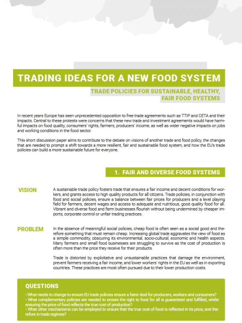 Visions Of Community 2015 Federation >> Trading Ideas For A New Food System Friends Of The Earth Europe