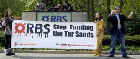 Taxpayers' money involved in financing controversial tar sands