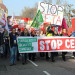 Stop CETA Strabourg demonstration