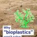 Bioplastics infographic cover